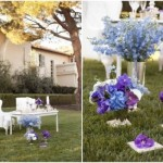 A festa no jardim pode ser romântica e delicada