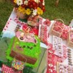 Aniversário infantil com o tema Piquenique
