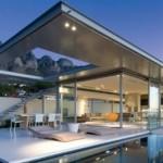 Casa com janelas de vidro (Foto:Divulgação)
