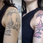 Tatuagem no braço da Mel Lisboa (Foto:Divulgação)
