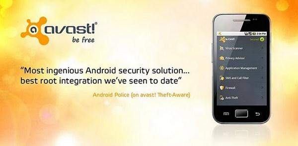O Avast agora também no seu Android