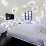 Decoração com luz de Led no quarto
