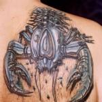 Tatuagem de monstro (Foto:Divulgação)