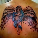 Tatuagem de anjo (Foto:Divulgação)