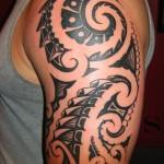 Tatuagem tribal no braço (Foto:Divulgação)