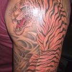 Tatuagem de tigre (Foto:Divulgação)