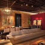 Cores, móveis e iluminação, tudo deve cooperar para a elegância de seu loft