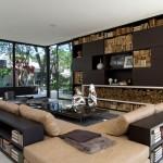 Com a boa utilização dos móveis é possivel delimitar ambientes isolados, mesmo com a falta de paredes