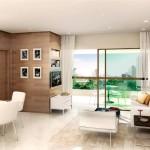Em linhas clean, loft sofisticado e cheio de estilo