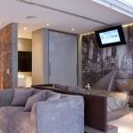 Separação simples de ambientes em um loft