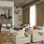 A falta de paredes pode trazer funcionalidade, mas é importante delimitar ambientes