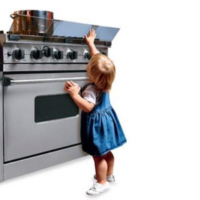 O protetor de fogão é ideal para evitar acidentes. (Foto: Divulgação)