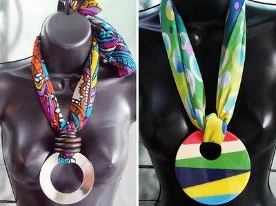 Esses colares são típicos do verão por causa da sua leveza e cor. (Foto: Divulgação)