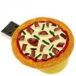 Pen drive de pizza (Foto:Divulgação)