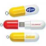 Pen drive de pílula (Foto:Divulgação)