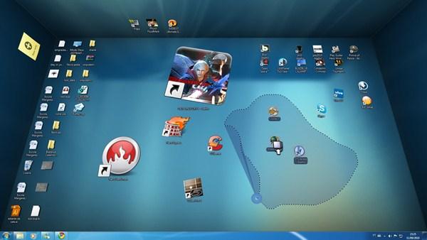 Organize o seu Desktop em 3D