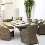 Conjunto de mesa e cadeiras para jardim