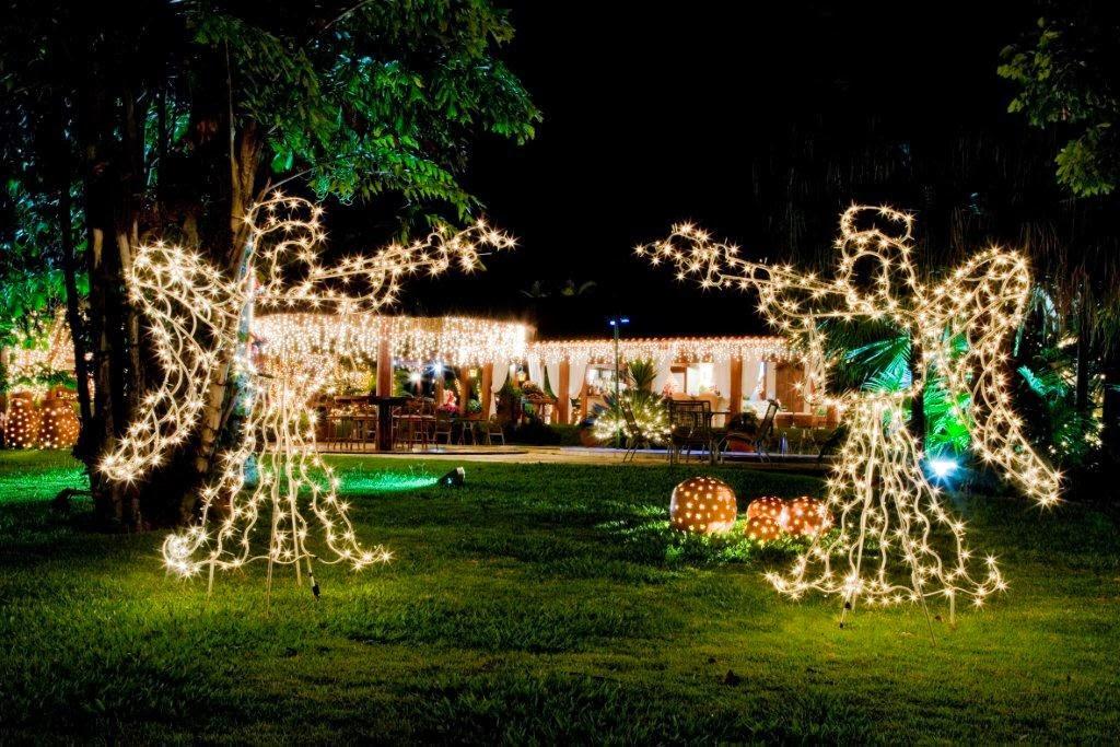 Decoração de Natal com luzes (Foto: Divulgação)