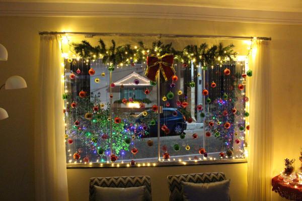 Armario Sala Jantar ~ Decoraç u00e3o de janelas no Natal MundodasTribos u2013 Todas as tribos em umúnico lugar