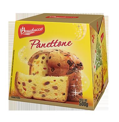 Delicioso panetone Bauducco (Foto: Site Oficial Baudduco)