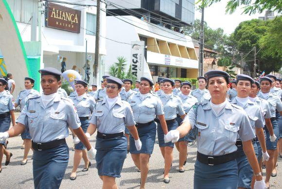 As mulheres também podem seguir carreira nas Forças Armadas (Foto Ilustrativa)