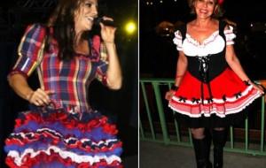 Vestido Caipira Festa Junina 2015