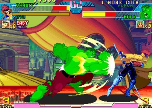 Marvel Vs Capcom, um dos games suportados