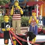Obras curiosas feitas com Lego – fotos