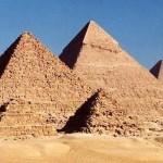 Pirâmides de Gizé (Foto:Divulgação)