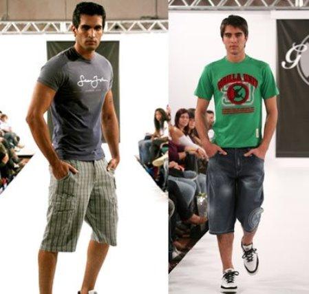 A bermuda, a camiseta e os tênis são essenciais para o verão. (Foto: Divulgação)