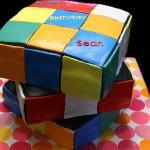 Bolo cubo colorido (Foto:Divulgação)