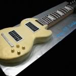 Bolo com formato de guitarra (Foto:Divulgação)