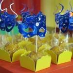 Docinhos decorados para carnaval. (Foto: Divulgação)