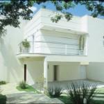 Casa modulada moderna e ampla.