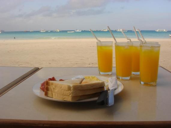 Cuidado ao comprar comida na praia (Foto: Divulgação)