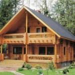 Fachada da casa de campo