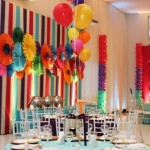 Ambiente colorido, pronto para o carnaval. (Foto: Divulgação)