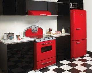 Dê um charme retrô à sua cozinha.