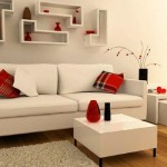 Sala de estar estilo clean.