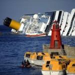 Navio naufragado Costa Concórdia