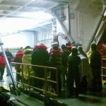 Equipes responsáveis pelo resgate e sobreviventes