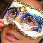 Máscara de meio rosto