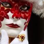 Máscara de gesso com tecido aplicado. (Foto: Divulgação)