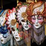 Modelos de máscaras venesianas