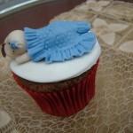 Cupcakes: lembrancinhas de maternidade
