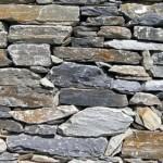 Pedras naturais para revestir o muro