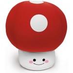 O cogumelo do Mario Bros virou almofada.