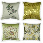 Almofadas - modelos, cores, como decorar 6