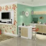 Cozinha conjugada à sala - decoração dicas fotos 25