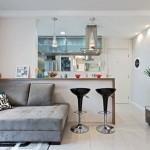 Cozinha conjugada à sala - decoração dicas fotos 26